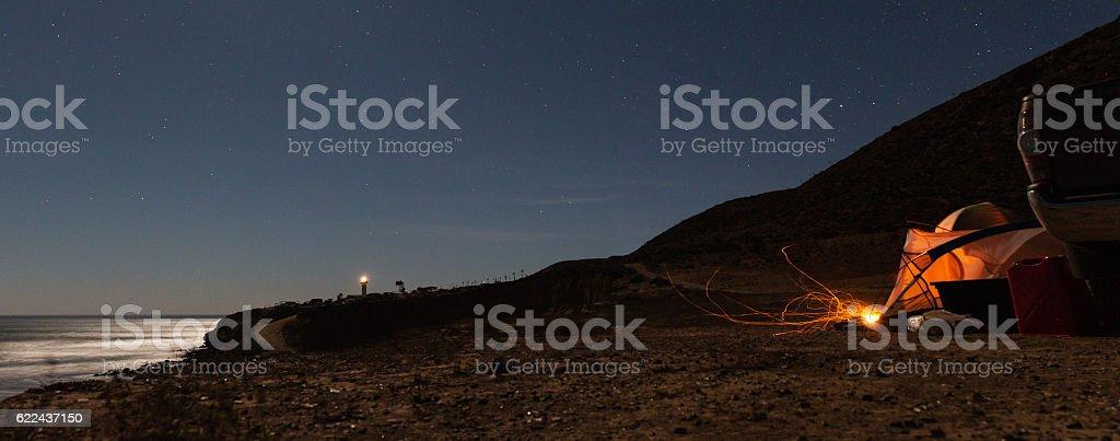 Campamento  - foto de stock