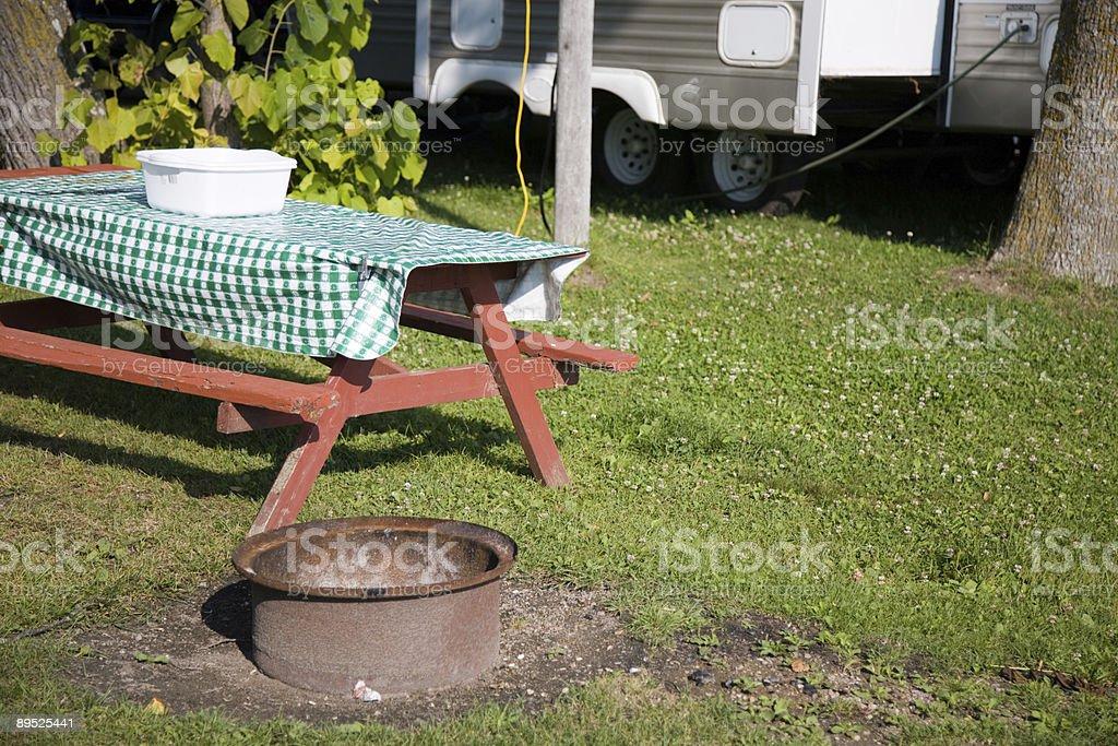 Camping Lizenzfreies stock-foto