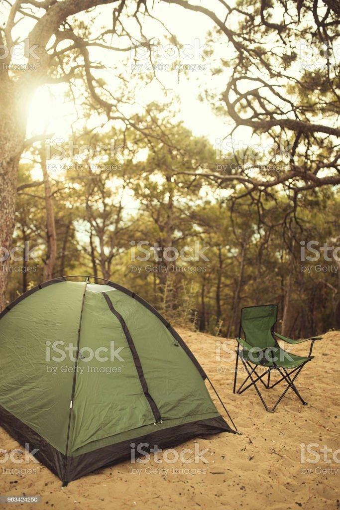 camping - Zbiór zdjęć royalty-free (Bez ludzi)