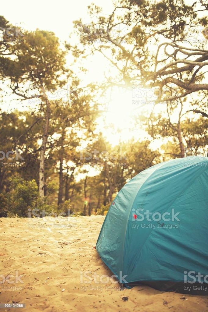 Camping - Royaltyfri Aktivitet Bildbanksbilder