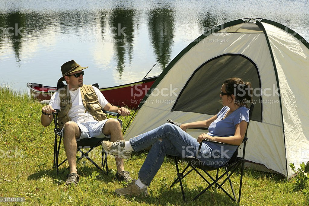 Camping Series royalty-free stock photo