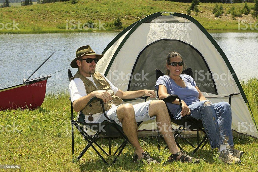 Camping Series royalty-free stock photo