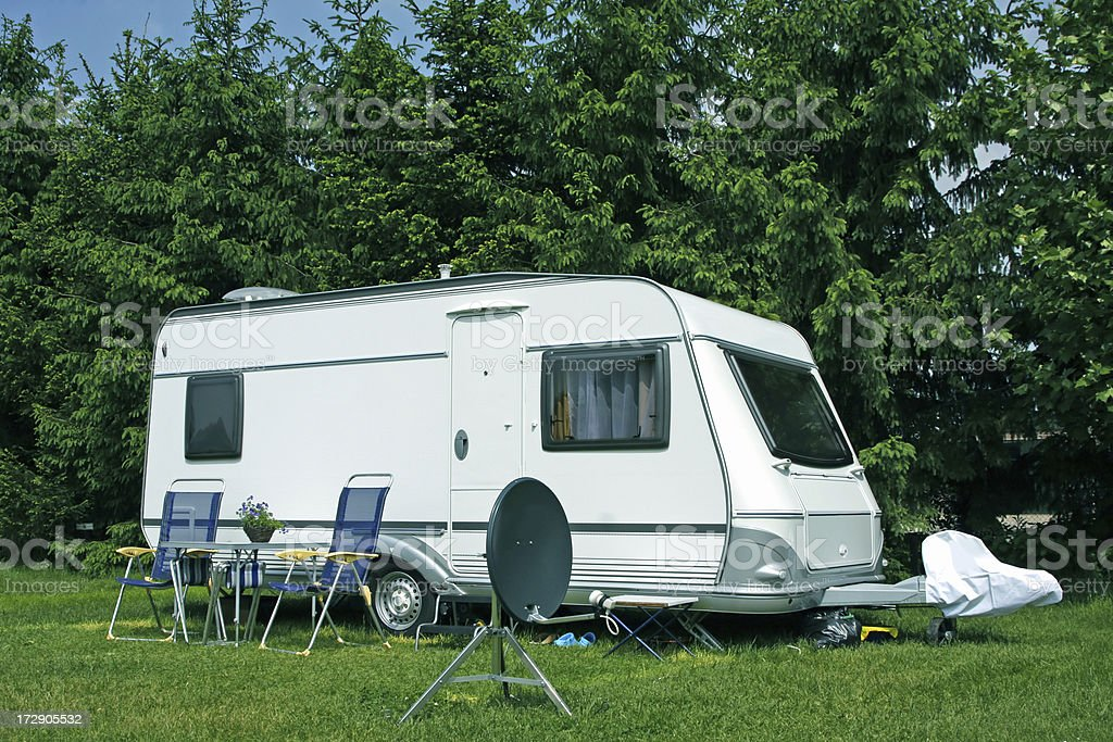 Camping site # 16 XL royalty-free stock photo