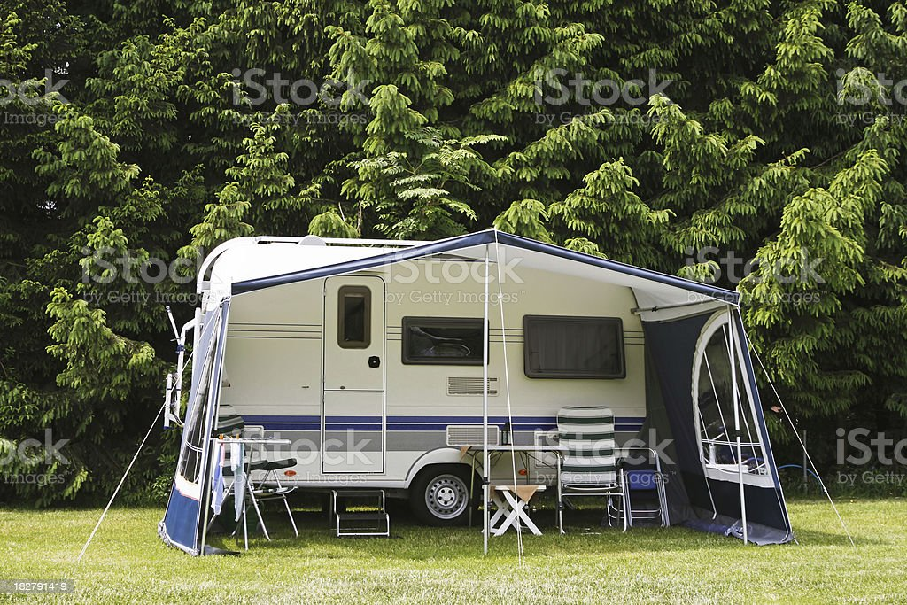 Camping site # 34 XL royalty-free stock photo