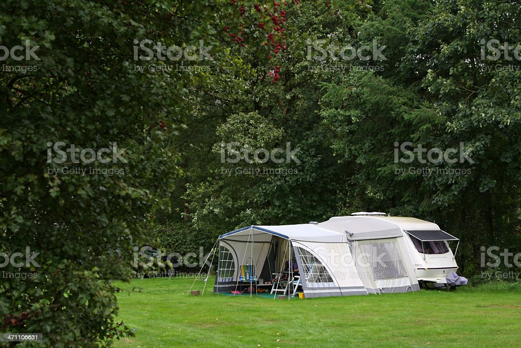 Camping site # 22 XL royalty-free stock photo