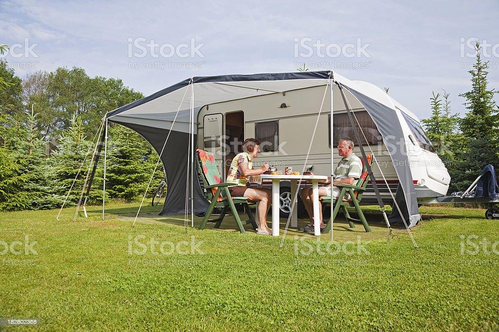 Camping site # 40 XXXL stock photo