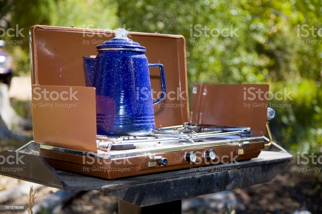 Camping Stove stock photo