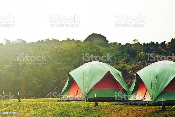 Camping Tent Stock Photo - Download Image Now
