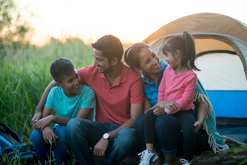 Family trip and holiday stock photos