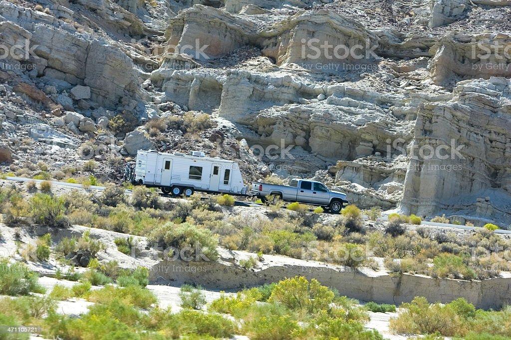 camping trip stock photo