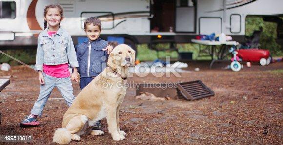 istock RV Camping Trip 499510612