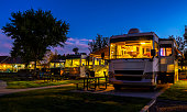 istock Camping under the night sky 1285665871
