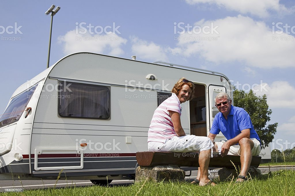 Camping # 52 XL stock photo