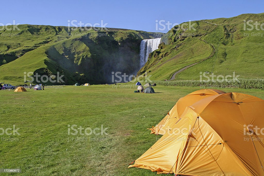 Campingsite # 7 royalty-free stock photo