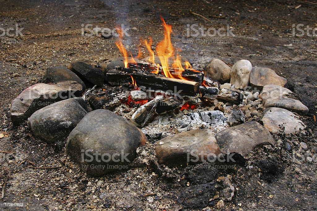 Camp'n royalty-free stock photo