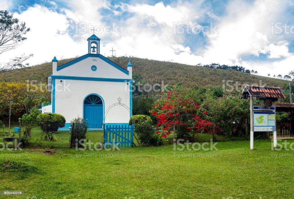 Campo Alegre Church stock photo