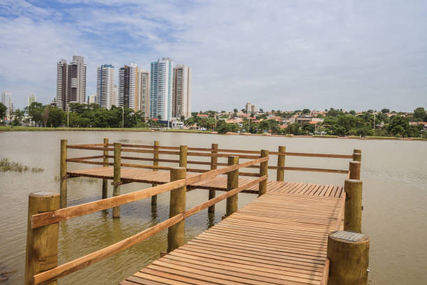 Campo Grande / MS / Brazil - february,23,2020 - Indigenous Nations Park