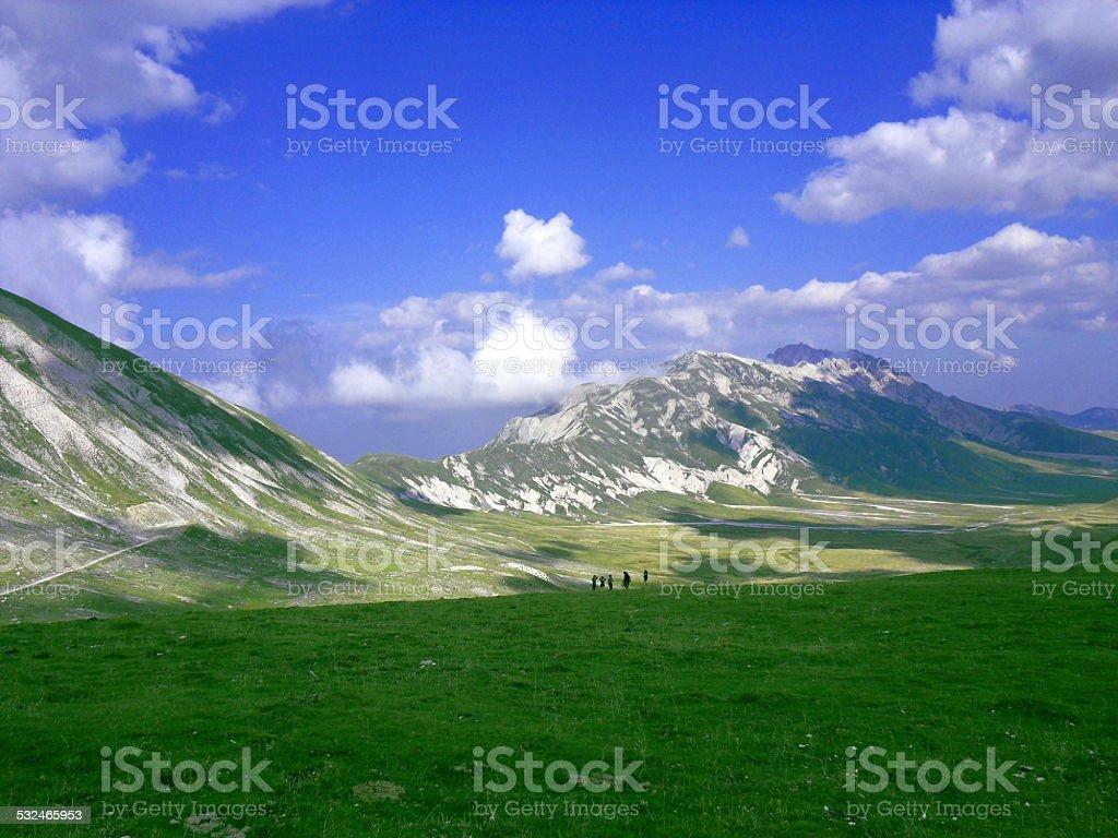 Campo Imperatore (Abruzzo) stock photo