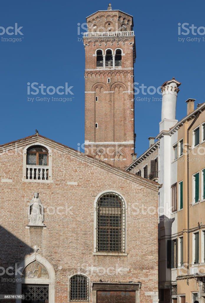 Campo San Toma, Venice, Italy stock photo