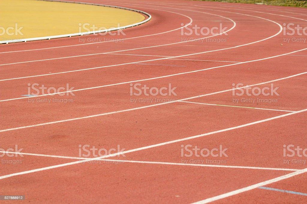 Campo sportivo stock photo