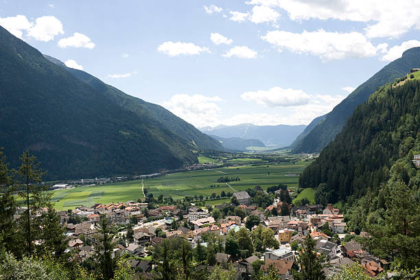 Campo Tures in Puster Valley - Trentino-Alto Adige stock photo