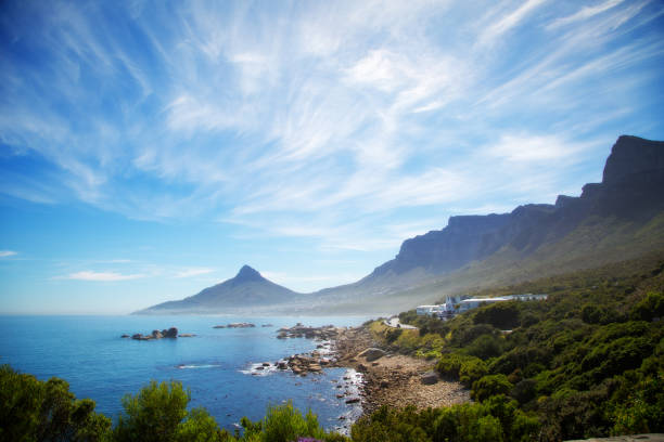 Camps Bay en Oudekraal, Kaapstad, Zuid-Afrika foto