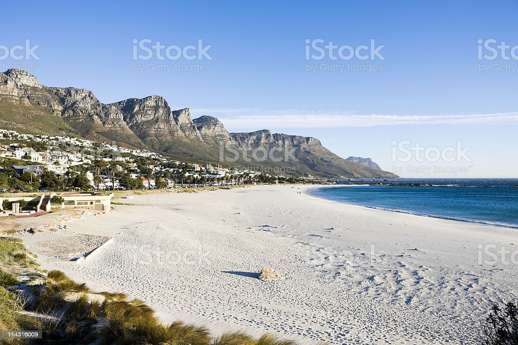 Camps Bay, Cape Town stock photo