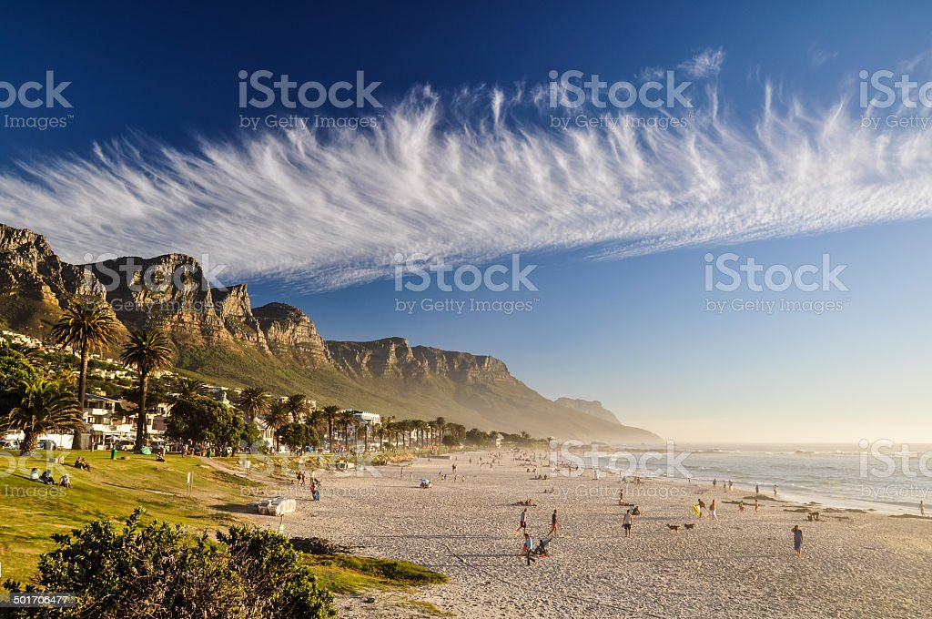 Camps Bay - Cape Town, South Africa stock photo