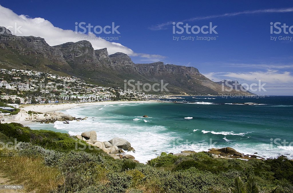 camps bay stock photo