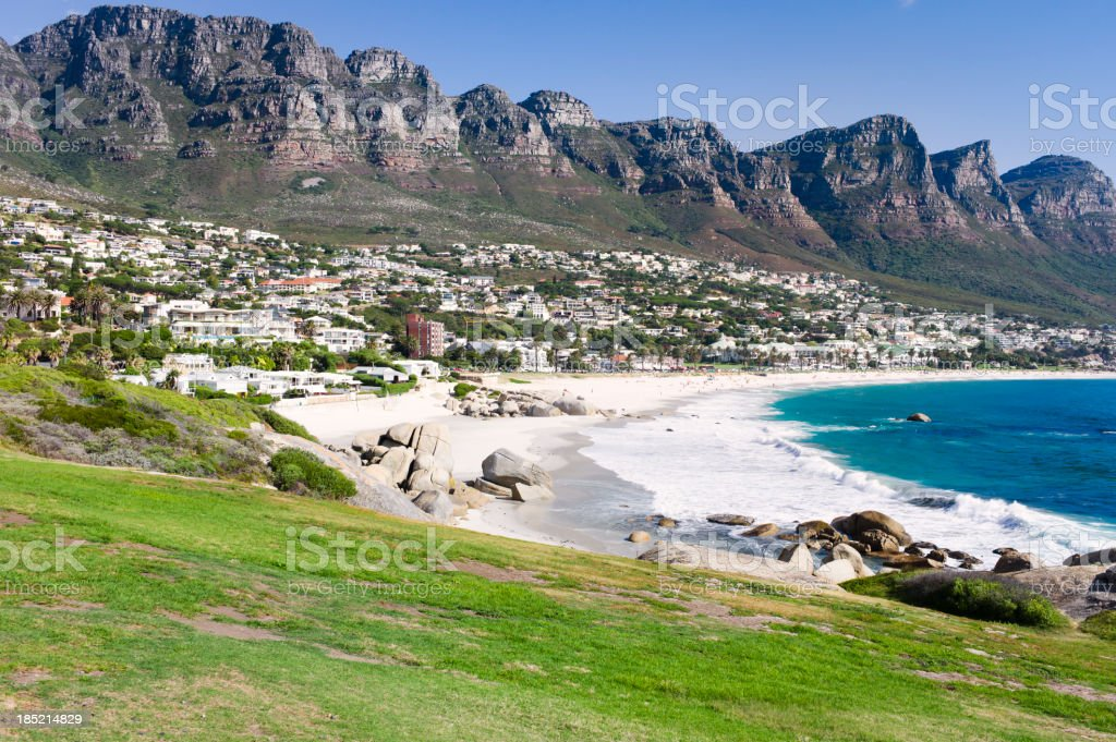 Camps Bay, South Africa. royalty-free stock photo