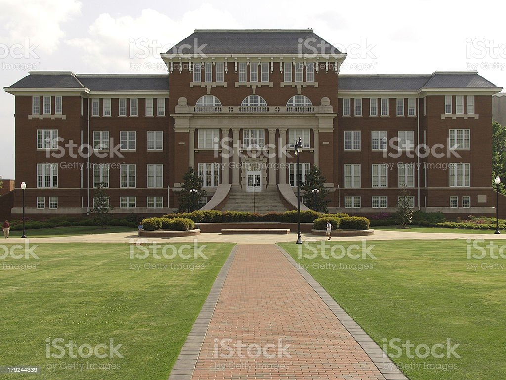 Campus Building stock photo