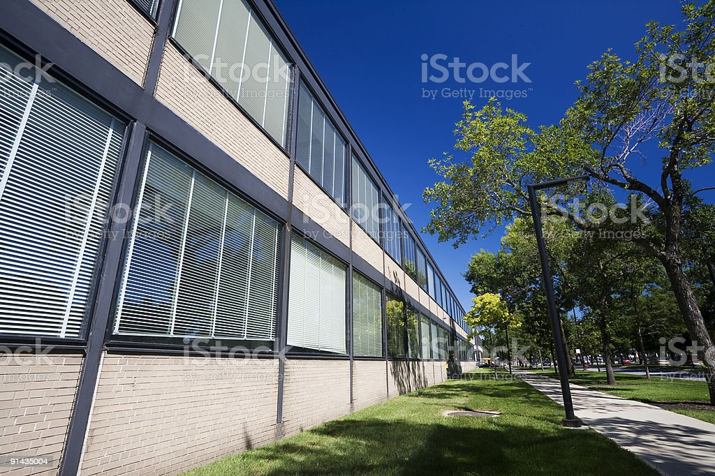 IIT Campus Chicago royalty-free stock photo