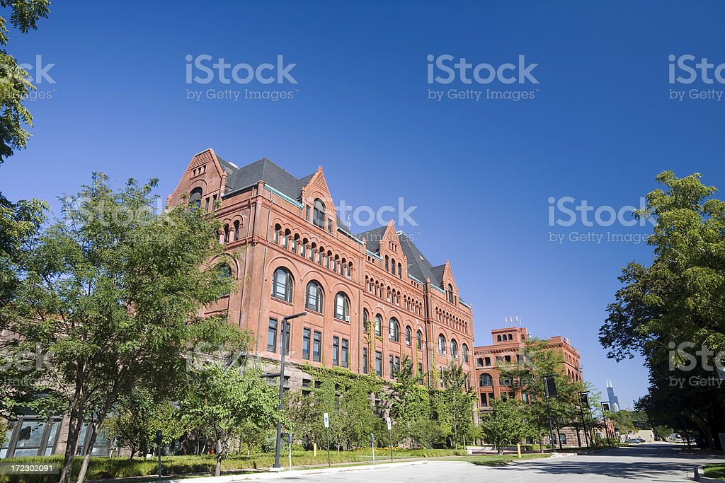 IIT Campus Main Building royalty-free stock photo
