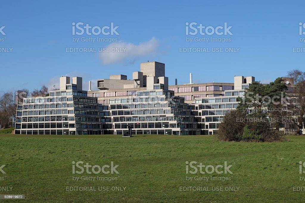 UEA campus, Norwich stock photo