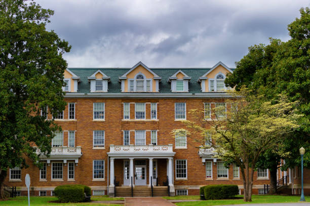 Campus of Maryville College in Maryville Tennessee stock photo