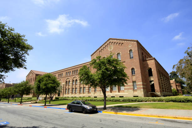 Campus of UCLA - University of California, Los Angeles Los Angeles, United States - July 02, 2012: Campus of UCLA - University of California, Los Angeles. royce hall stock pictures, royalty-free photos & images
