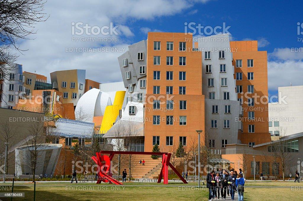MIT Campus stock photo