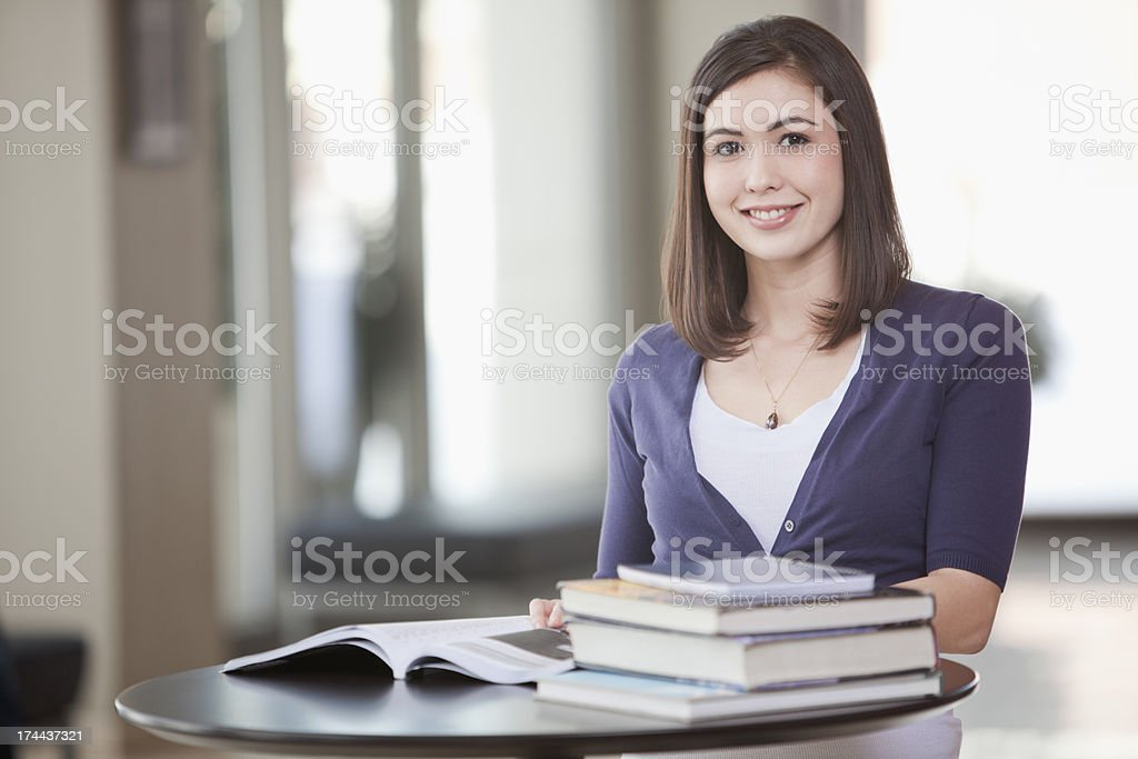 Campus student Portrait 2 royalty-free stock photo