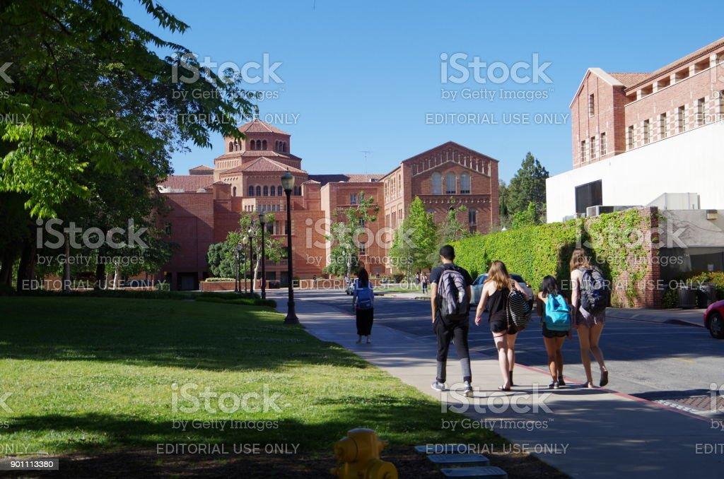 Campus 'University of California, Los Angeles' stock photo