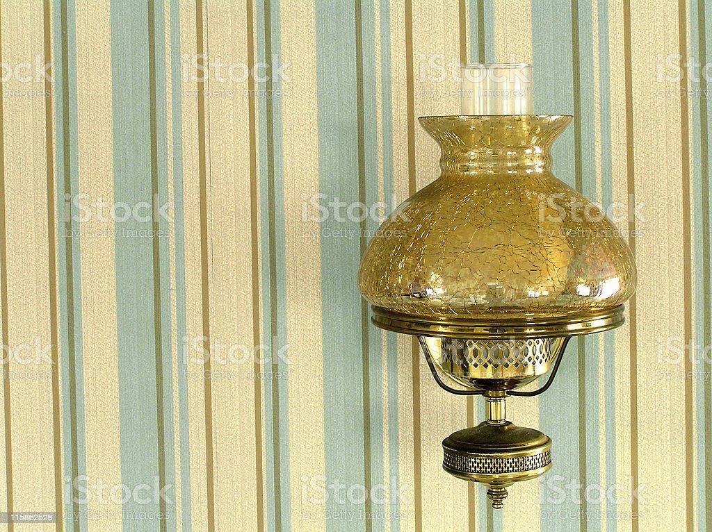 campy lamp royalty-free stock photo