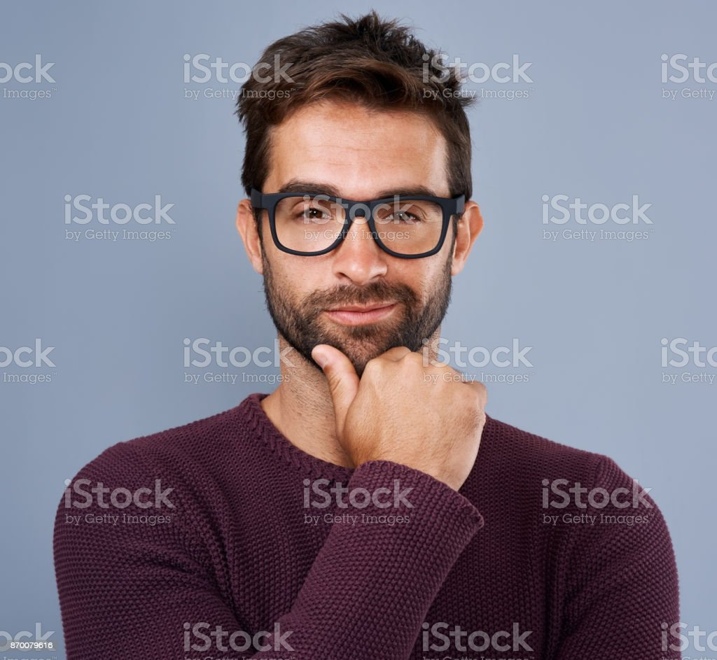 I can because I know who I am stock photo