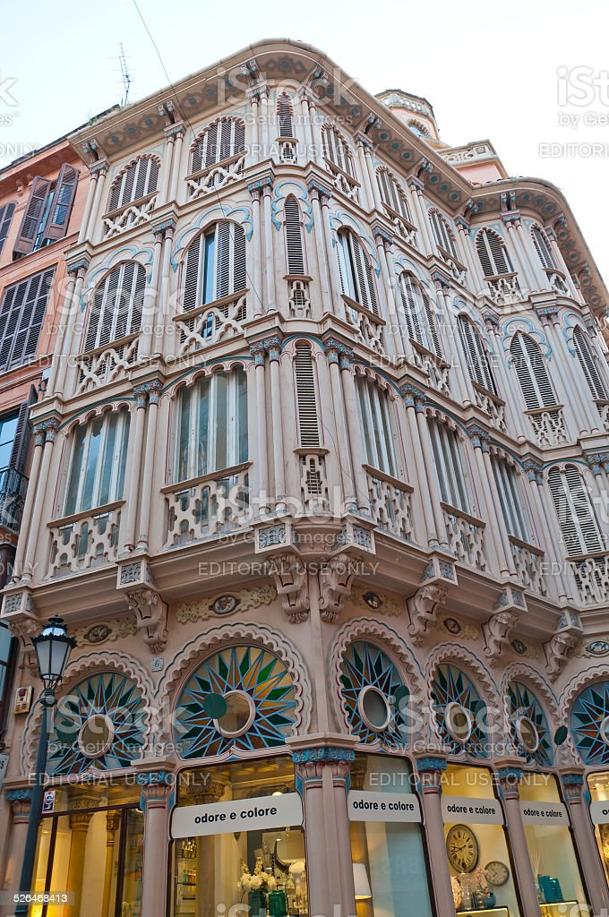 Can Corbella building Palma stock photo