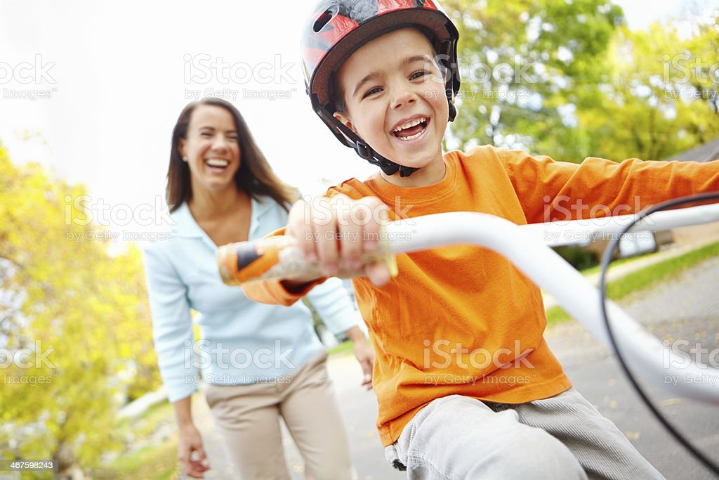 I can do this all by myself stock photo