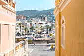 Sitges, Catalonia, Spain: July 28, 2020: Can Ferrat in the beach in Sitges in summer 2020.