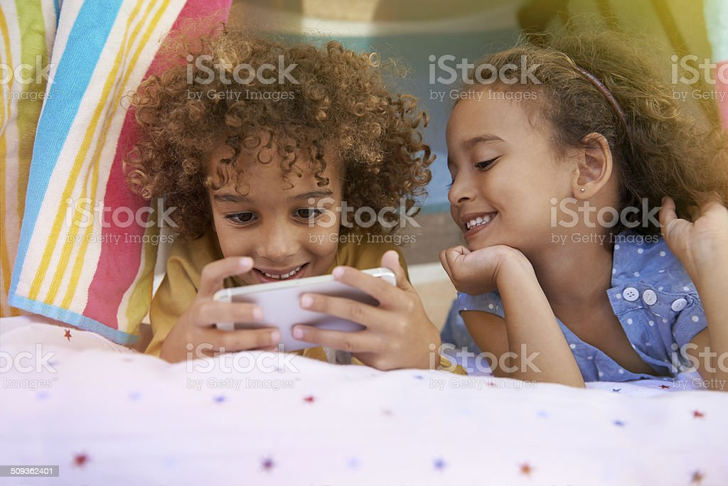 Can I have a go now? stock photo