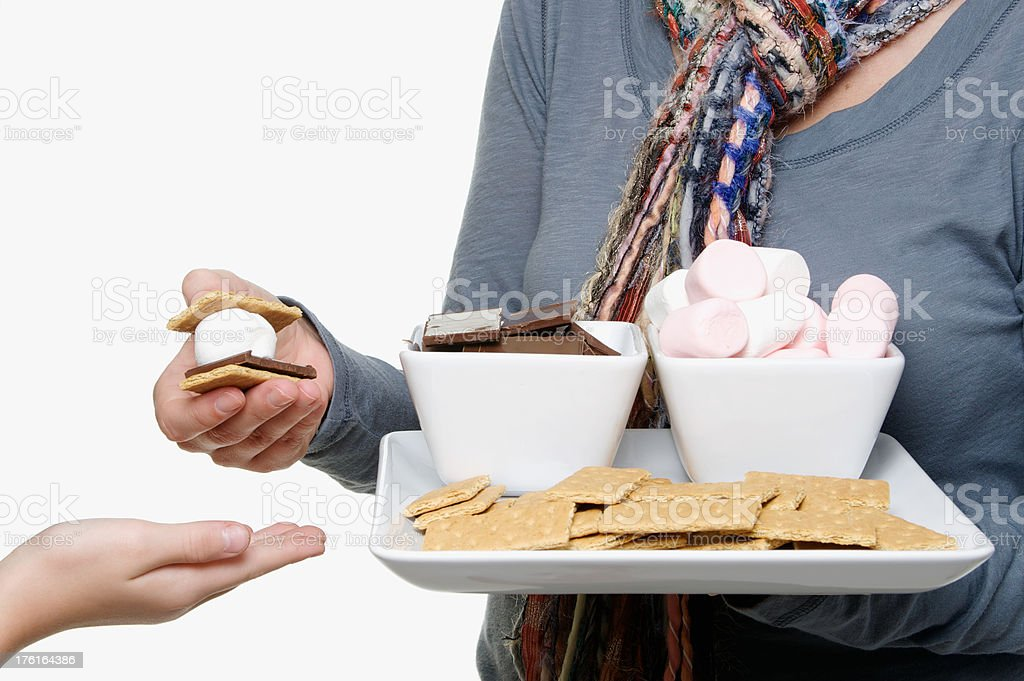 Can I Have A S'mores Please? royalty-free stock photo