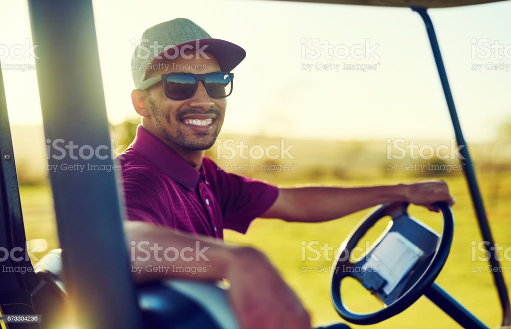 Can I offer you a ride to the next round? stock photo