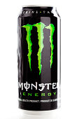 Can of Monster Energy Drink