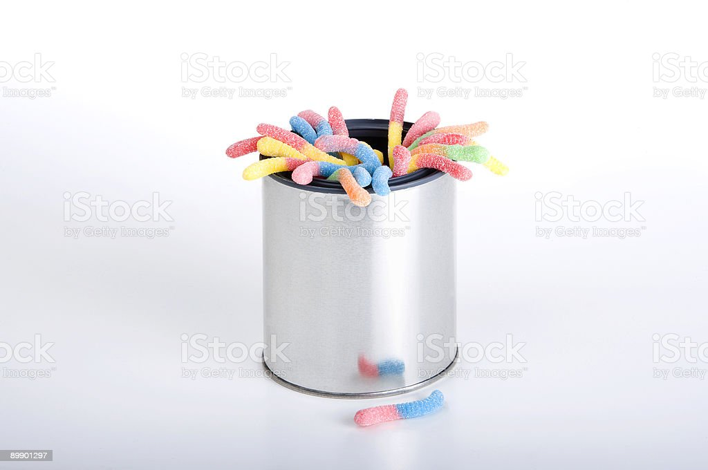 Can of Worms royalty-free stock photo
