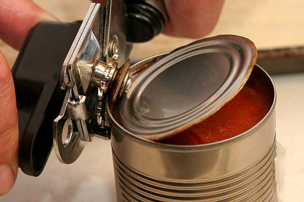 Can Opener stock photo